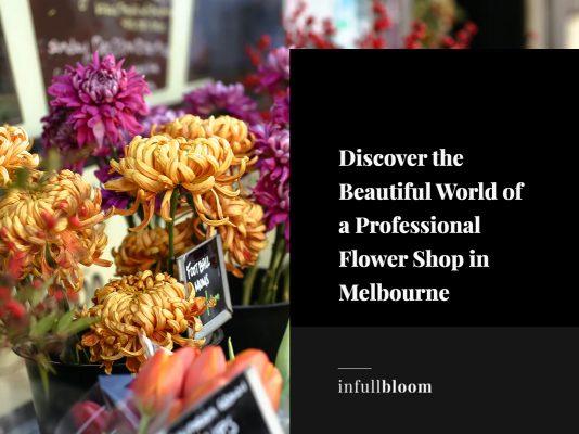 flower shop melbourne