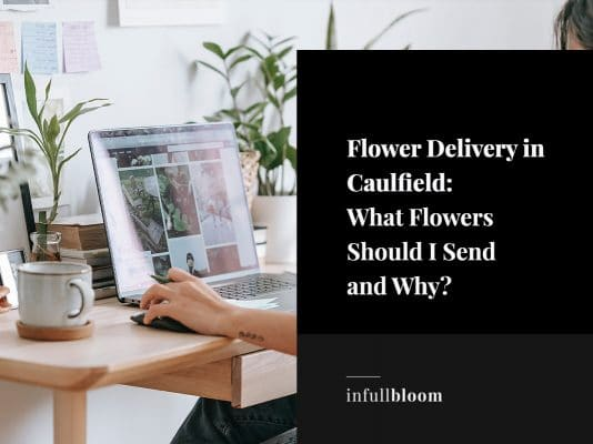 flower delivery in caulfield