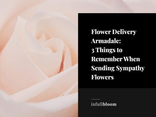 flower delivery armadale